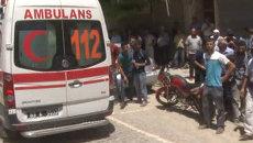 Бомба взорвалась рядом с кафе в Суруче. Кадры с места теракта