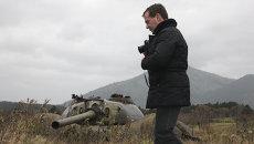 1 ноября 2010 г. Президент России Дмитрий Медведев посетил остров в Большой Курильской гряде