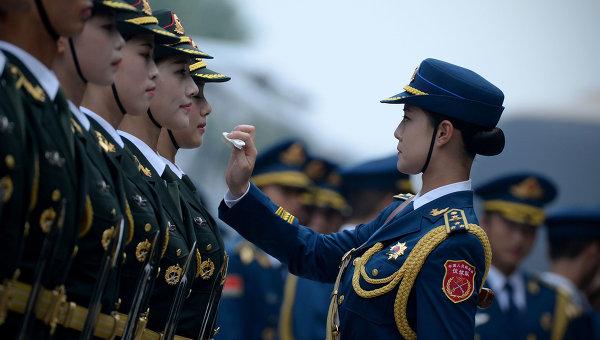 Почетный караул в Пекине