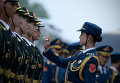 Почетный караул перед приездом генерал-губернатора Новой Зеландии в Пекин