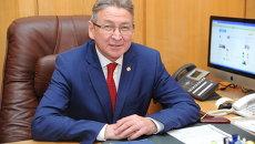 Ректор Уфимского государственного нефтяного технического университета (УГНТУ), профессор Рамиль Бахтизин