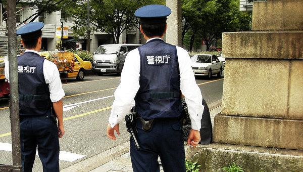 Японские полицейские. Архивное фото