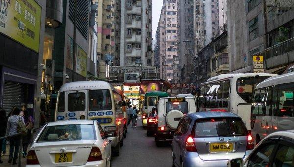 Города мира. Гонконг. Архивное фото