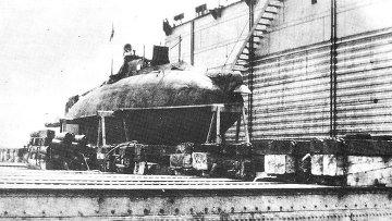 Подводная лодка Сом. Архивное фото