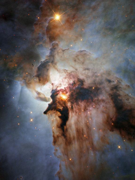 Новое изображение туманности Лагуна создано телескопом Хаббл