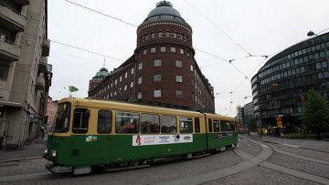 В центре Хельсинки. Архивное фото