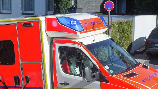 Машина скорой помощи в Германии. Архивное фото