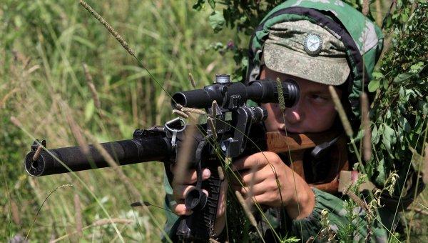 Снайпер. Архивное фото