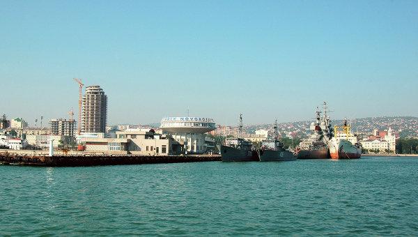 Порт Новороссийска. Архивное фото