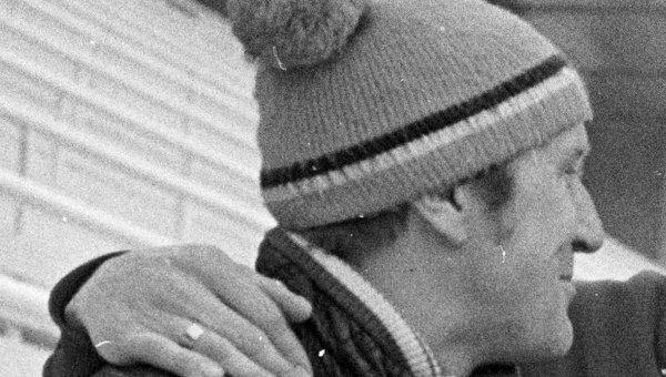 Тренер сборной СССР по конькобежному спорту Борис Барышев. Архивное фото
