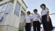 Церемония отмены таможенного контроля на контрольно-пропускном пункте Ак-Жол