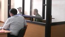Российский солдат Пермяков предстал перед судом в Гюмри. Кадры заседания