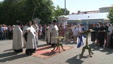 Пятнадцать лет трагедии Курска: в Петербурге отслужили поминальный молебен