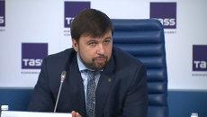Пушилин заявил, что многие донбассцы могут захотеть получить паспорта РФ