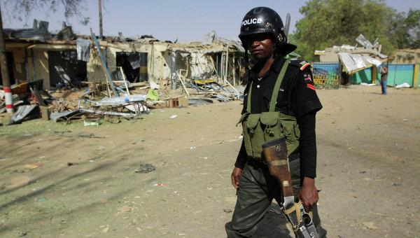 Полиция Нигерии. Архивное фото.