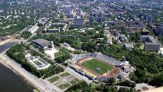 Вид на город Хабаровск. Архивное фото