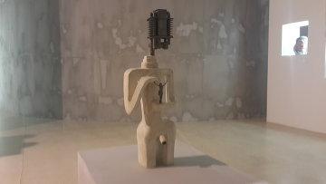 Скульптура Пророк работы Вадима Сидура