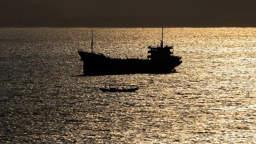 Корабль в Южно-Китайское море