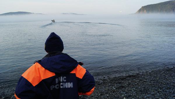 Поисково-спасательная операция МЧС, архивное фото