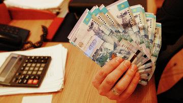 Тенге - национальная валюта Казахстана. Архивное фото