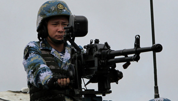 Китайский морской пехотинец. Архивное фото
