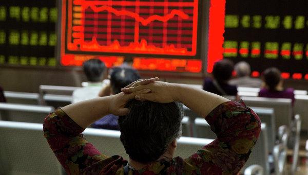 Цены на акции в Пекине. Август 2015. Архивное фото