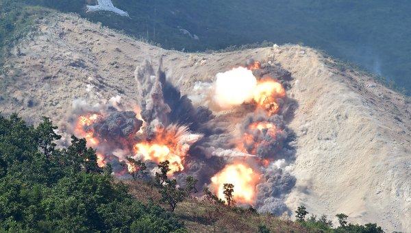 Военные учения Южной Кореи и США. Архивное фото