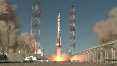 Протон-М с британским спутником успешно стартовал с Байконура. Кадры запуска