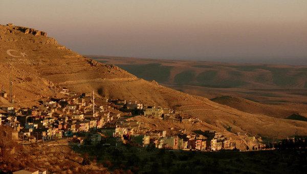 Турецкая провинция Мардин на юго-востоке. Архивное фото