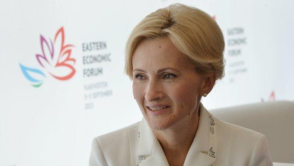 Депутат Госдумы РФ Ирина Яровая. Архивное фото