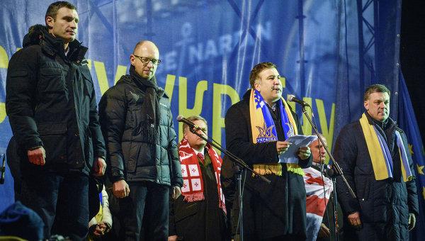 На митинге сторонников евроинтеграции на площади Независимости. Архивное фото
