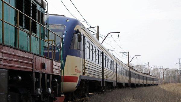 Пассажирский электропоезд отправился со станции Ясиноватая. Архивное фото