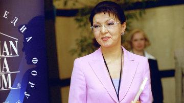 Заместитель премьер-министра Казахстана Дарига Назарбаева. Архивное фото