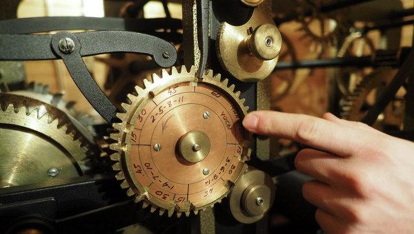 Смотритель башенных часов. Архивное фото