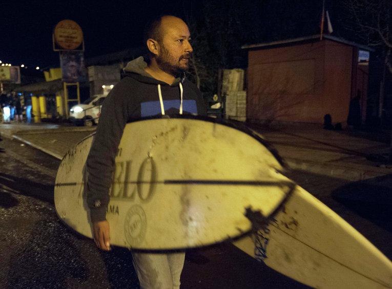 Землетрясение в Чили