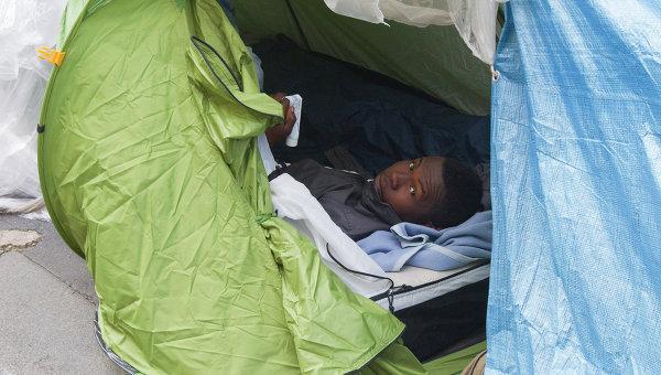 Лагерь беженцев из Судана. Архивное фото