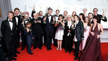 Команда сериала Игра престолов на церемонии вручения премии Эмми