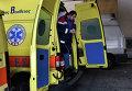 Работа греческой службы скорой помощи