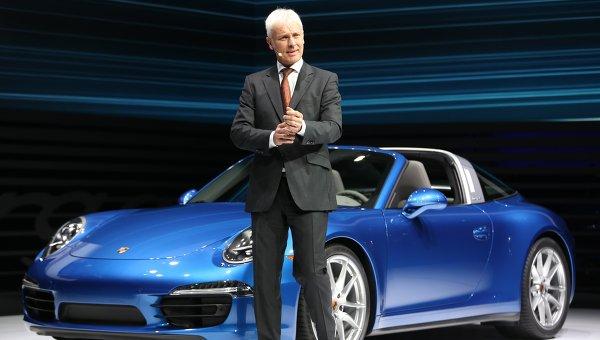 Глава Porsche Маттиас Мюллер. Архивное фото