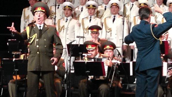Академический ансамбль песни и пляски Российской армии имени А. В. Архивное фото