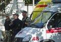 Нападение на станцию скорой помощи в Симферополе