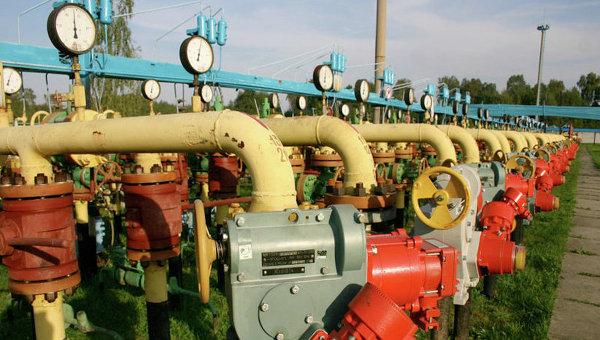 Украина трошки подкачала газку всвои ПХГ