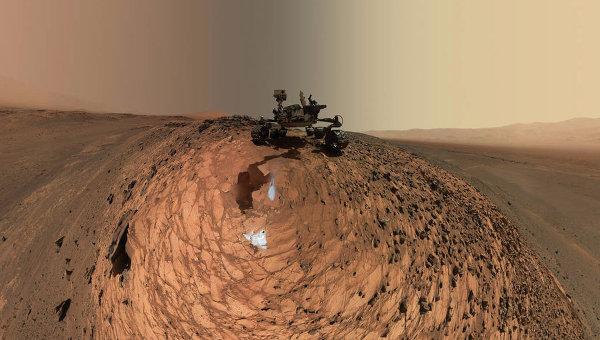 Марсоход Curiosity, архивное фото