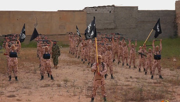 Боевики Исламского государства. Архивное фото