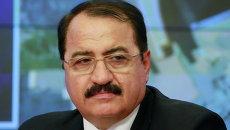 Чрезвычайный и Полномочный Посол Сирийской Республики в РФ Рияд Хаддад. Архивное фото