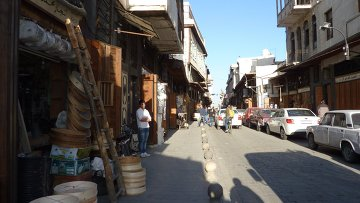 Города мира. Дамаск. Архивное фото