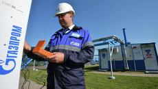 Церемония пуска газа по случаю завершения строительства газопровода-отвода в Казани. Архивное фото