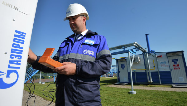 Сотрудник Газпрома. Архивное фото