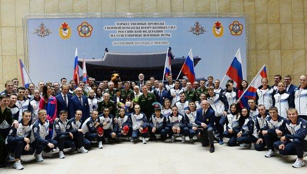 В Южной Корее в пятницу открываются шестые Всемирные военные игры