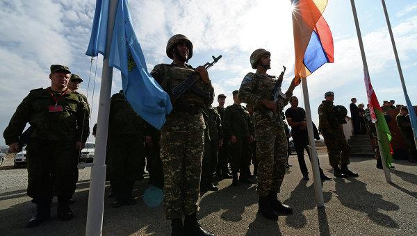Военнослужащие Коллективных миротворческих Организации Договора о коллективной безопасности (КМС ОДКБ)